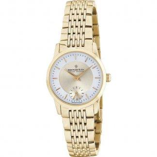 Ladies 1946 Slimline Gold Tone Bracelet Watch DLB00002/03
