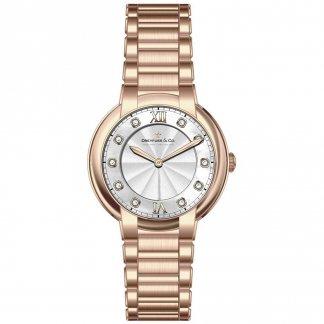 Ladies 1974 Rose Gold Diamond Set Watch DLB00063/D/01