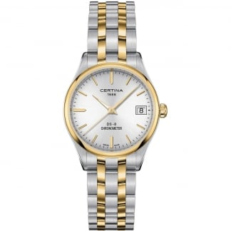 Ladies DS-8 30mm Bi-Colour COSC Quartz Watch
