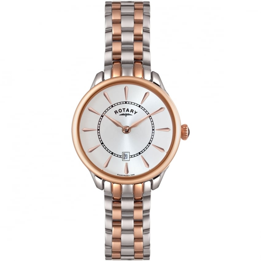 Ladies Elise Two Tone Bracelet Watch LB02917/02