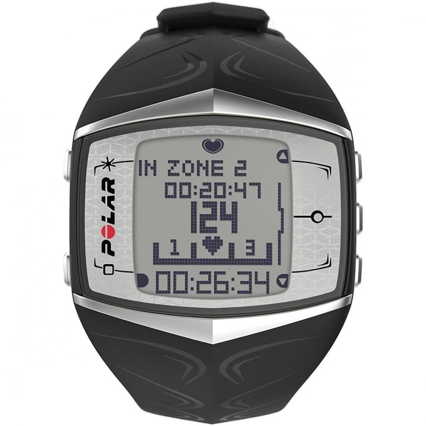 Polar Ladies FT60F Black Heart Rate Monitor Watch 90051011