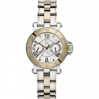 Ladies Diamond Set Two Tone Femme Watch X74013L1S