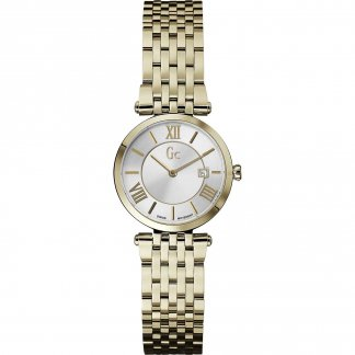 Ladies Gold Plated SlimClass Watch X57002L1S