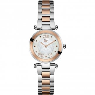 Ladies Two Tone LadyChic Mini Watch Y07002L1
