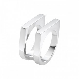 Aria Two Row Ring (Size O)