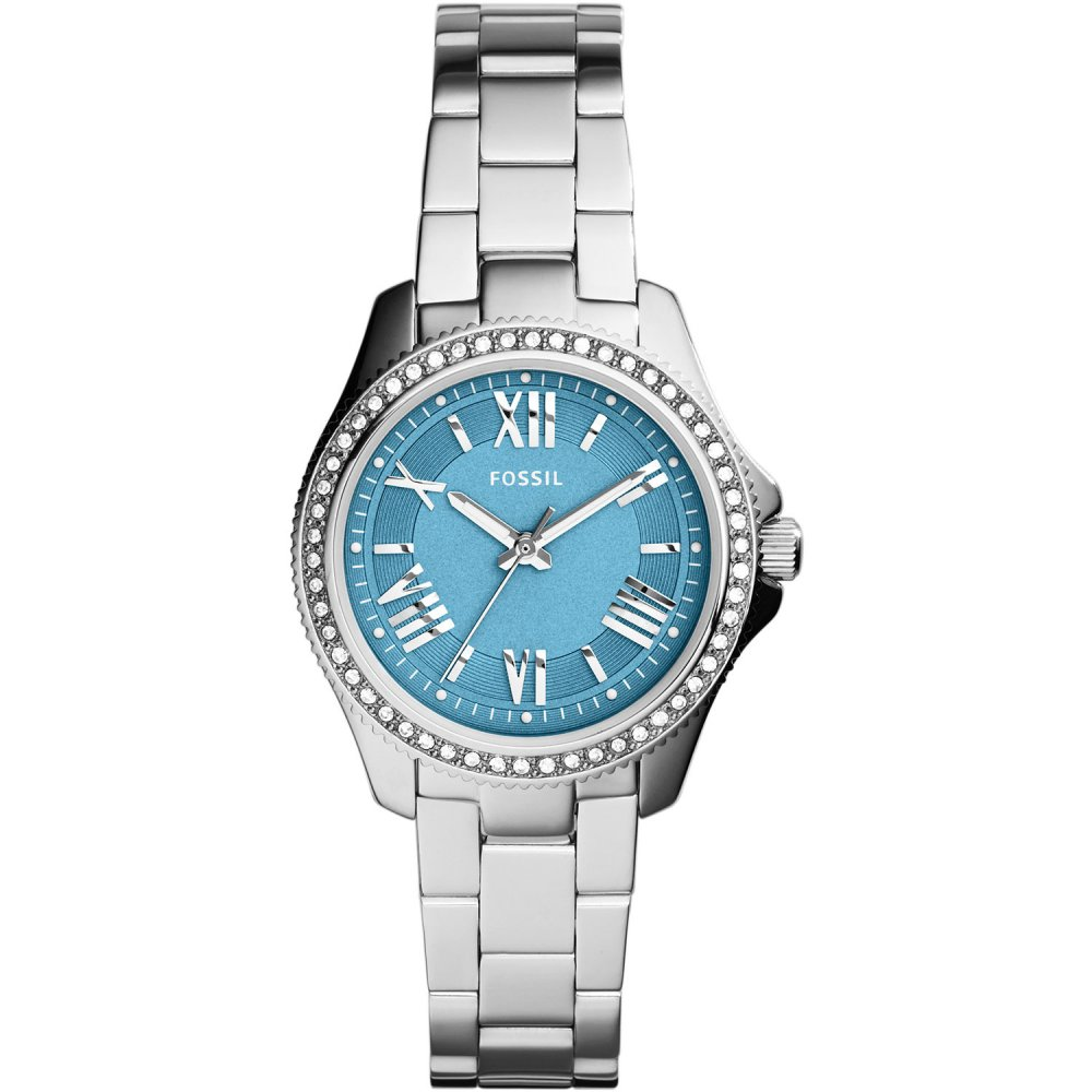 fossil glitzy blue cecile fossil from