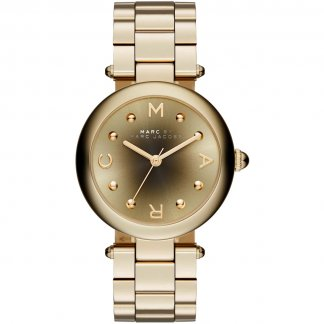 Ladies Gold Dotty Watch With Graduated Dial