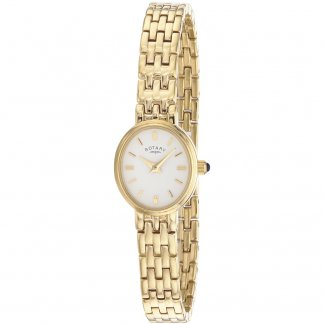 Ladies Gold Tone All Steel Watch