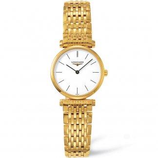 Ladies Gold Tone Steel La Grande Classique Watch L4.209.2.12.8