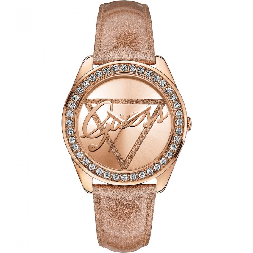 Shop Ladies Guess W0023L4 Time To Give Watch | Francis ...