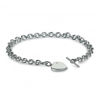 Ladies Just Add Love T-Bar Bracelet