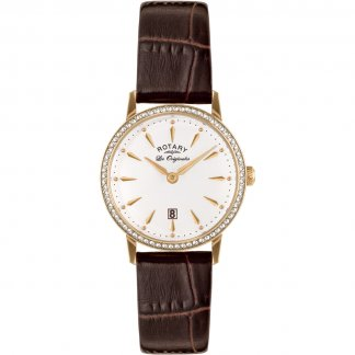 Ladies Les Originales Gold Plated Kensington Watch