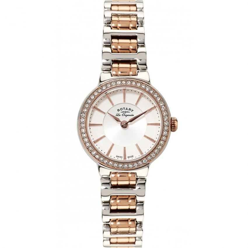 Rotary Ladies Les Originales Two Tone Lucerne Watch LB90083/02