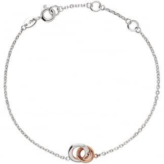 20/20 Bi-Metal Interlocking Bracelet 5010.3177