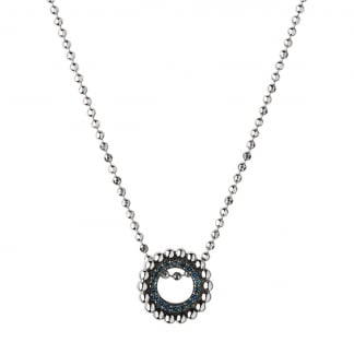 Effervescence Blue Diamond Mini Necklace 5020.2996
