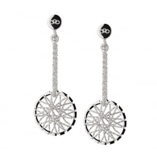 Silver Dream Catcher Earrings 5040.2224