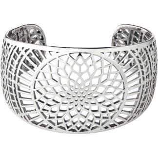 Timeless Silver Cuff Bangle 5010.3182