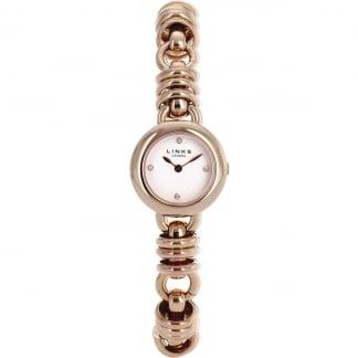 Ladies Rose Gold Sweetie Bracelet Watch 6010.0445