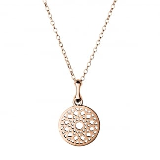 Rose Gold Vermeil Small Timeless Pendant 5024.1409