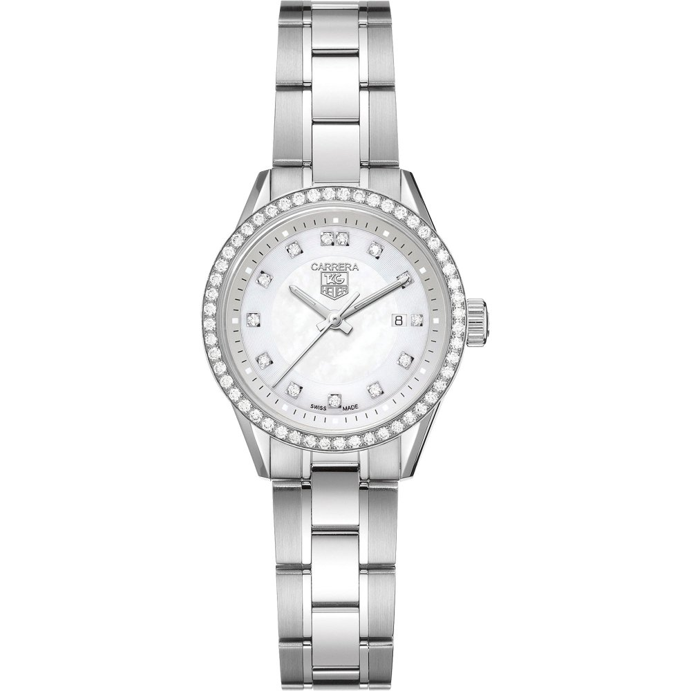 b2e836545dac8 TAG Heuer Luxury Ladies Carrera Diamond Set Dial   Bezel Watch Product Code   WV1413.BA0793
