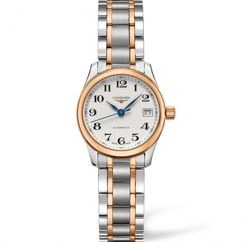 Longines Ladies Luxury Swiss Made Automatic Master Collection Watch L2.128.5.79.7