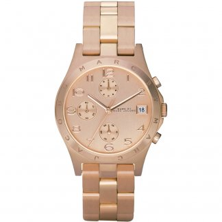 Ladies Chronograph Henry Bracelet Watch MBM3074