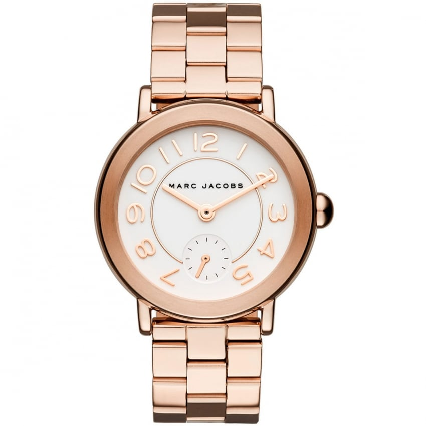 Marc Jacobs Women's Rose Gold Riley Watch MJ3471