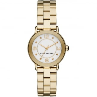 Ladies Small Gold Riley Watch MJ3473