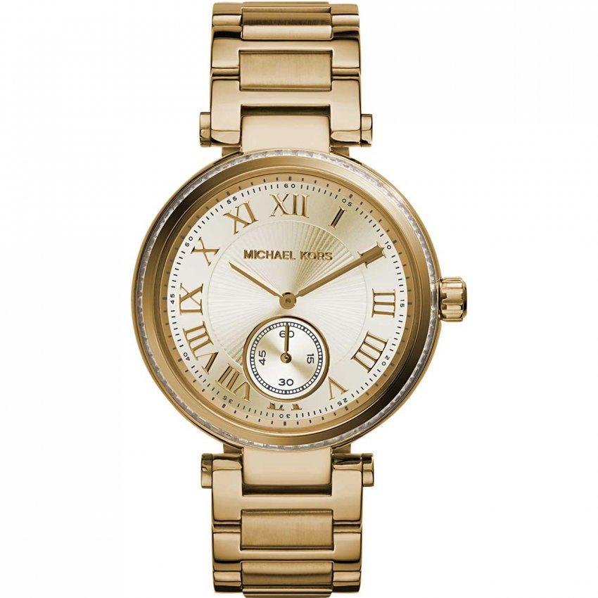 Michael Kors Ladies Skylar Gold Tone Bracelet Watch MK5867