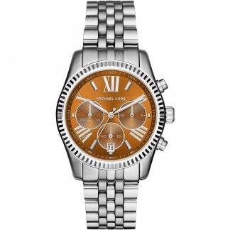 Ladies Lexington Whisky Chronograph Watch MK6221