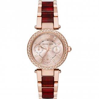 Ladies Two Tone Mini Parker Watch MK6239