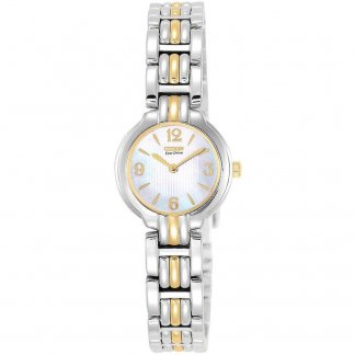 Ladies Silhouette Watch with Mother of Pearl Dial EW8694-52D