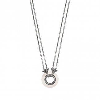 Ladies Pure Eagle Circles Necklace EG3115040