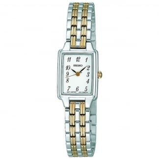 Ladies Quartz Bi-Colour Bracelet Watch