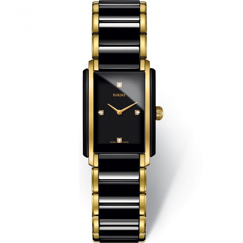 RADO Ladies Integral Jubile Gold PVD Diamond Watch R20845712