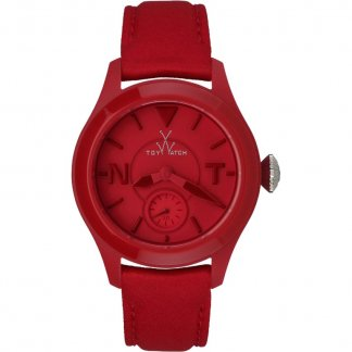 Ladies Red Toy2Fly Rubber Strap Watch TTF03RD