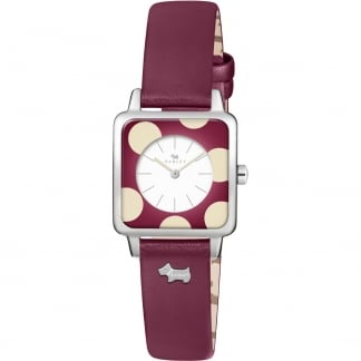 Ladies 'Rochester' Ruby Strap Watch