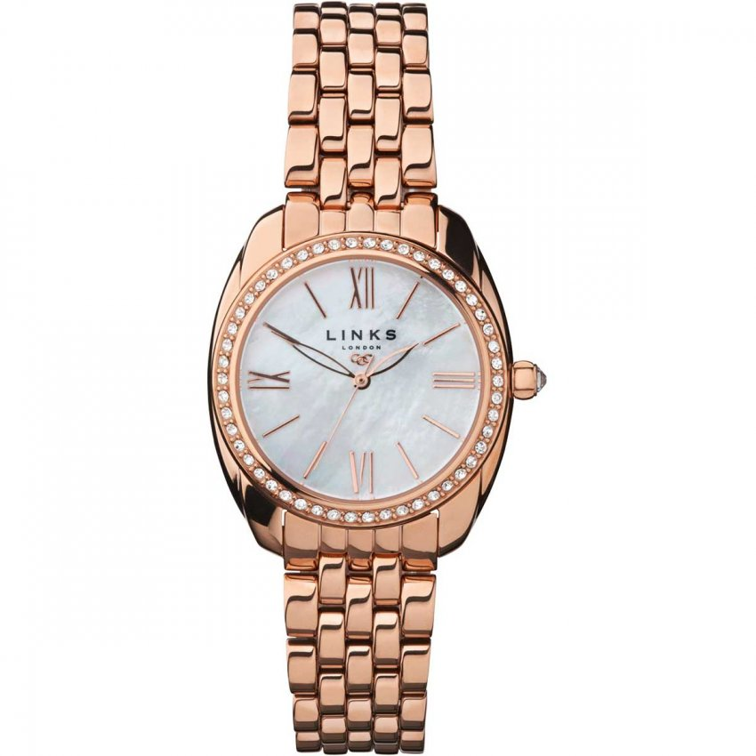 Links of London Ladies Rose Gold Bloomsbury Watch 6010.1311