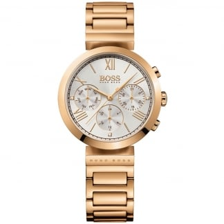 Ladies Rose Gold Classic Women's Sport Watch
