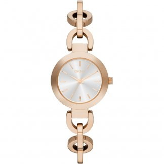 Ladies Rose Gold Tone Stanhope Watch NY2135