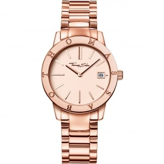 Ladies Rose Gold Glam And Soul Watch