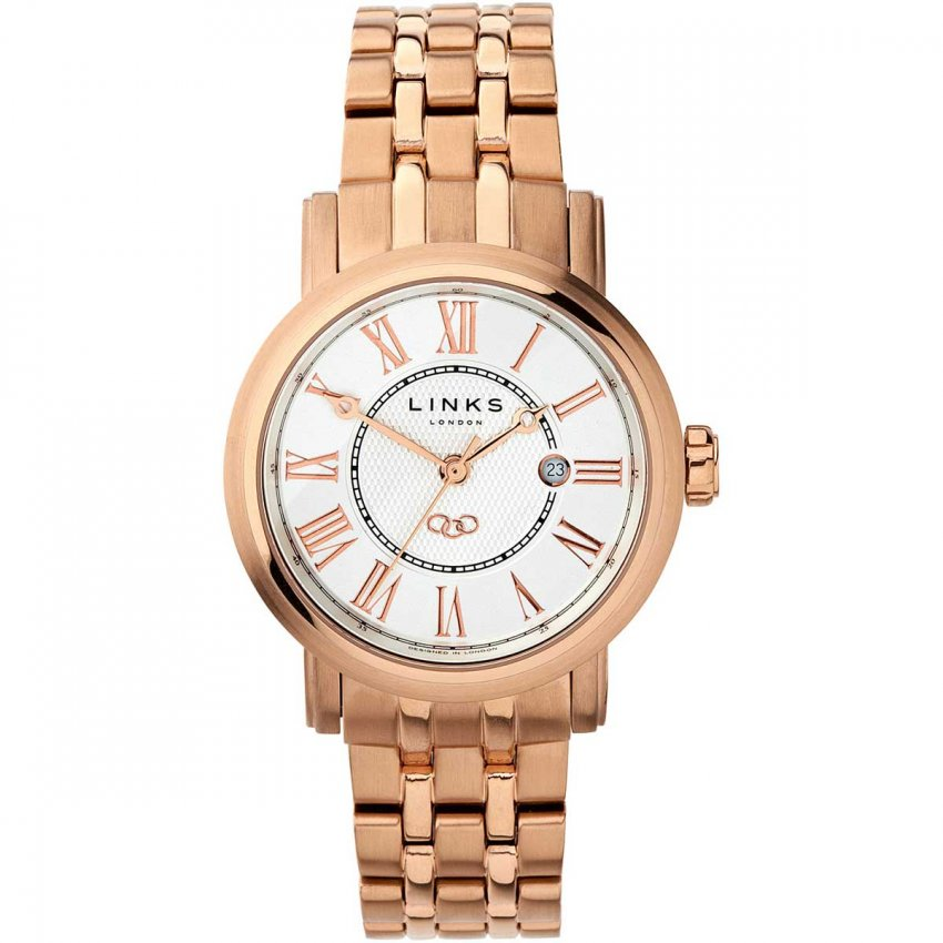 Links of London Ladies Rose Gold Plated Richmond Watch 6010.1425