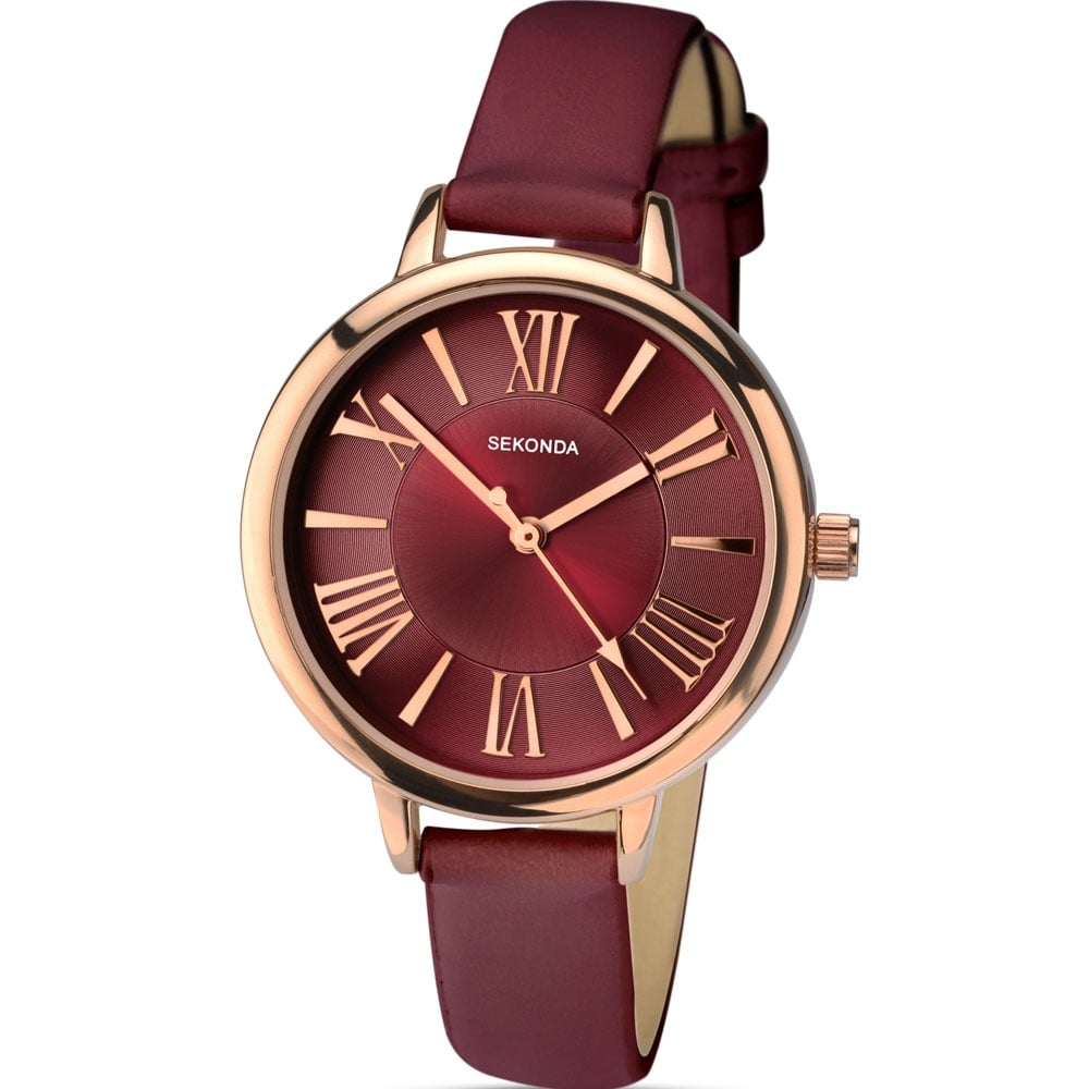 strap leather watch jacobs gorgeous deep baker marc women watches by pin s maroon