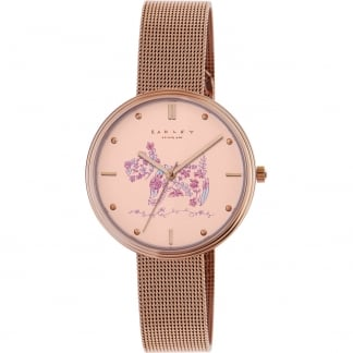 Ladies Rose Gold 'Rosemary Gardens' Watch