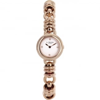 Ladies Rose Gold Sweetie Bracelet Watch
