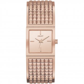 Ladies Stunning Rose Gold Tone Bryant Park Watch NY2232