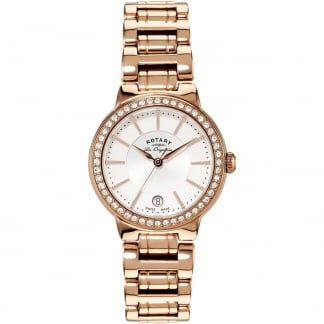 Ladies Les Originales 34mm Rose Gold Lucerne Watch LB90085/02L