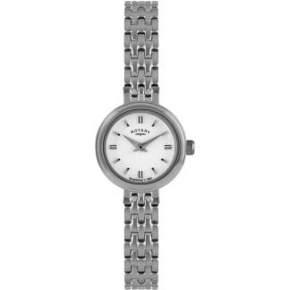 Ladies Silver Tone Dress Watch LB02086/02