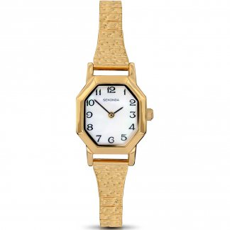 Ladies Quartz Gold Plated Expander Watch 4265
