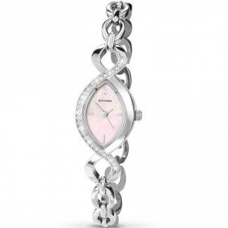 Ladies Stunning Stone Set Bracelet Watch 4684